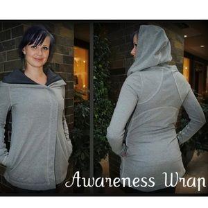 Grey Size 4 Lululemon Awareness Wrap